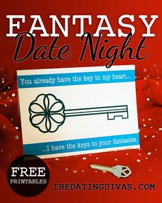 Make all your fantasies come true on this romantic date night for two! www.TheDatingDivas.com #datenight #romance #marriage