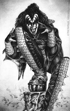 Gene Simmons Cartoon | Gene Simmons