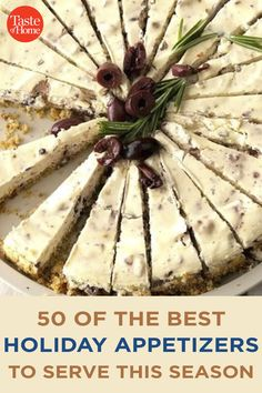 50 of the Best Holiday Appetizers to Serve This Season Best Holiday Appetizers, Holiday Fun, Holiday Recipes, Lithuanian Recipes, Bacon Jam, Holiday Side Dishes, Crab Cakes, Antipasto, Side Dish Recipes