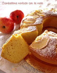 Ciambellone morbido con le mele…