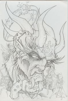 images of satan and demons | Drawings Satan And Demons Pictures