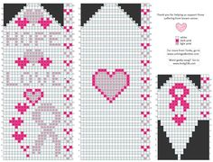 HELP FOR CANCER Breast Cancer Awareness Mittens