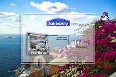 Santopoly Board Game in Oia. #santorini #santopoly #Oia #boardgame #greekproducts