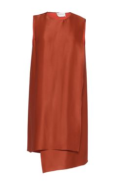 Satin Crepe Mini Dress by MAISON RABIH KAYROUZ for Preorder on Moda Operandi