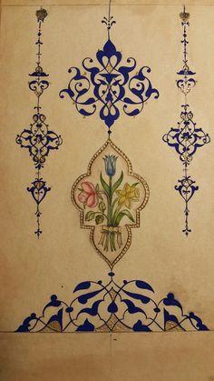 Islamic Art Pattern, Arabic Pattern, Pattern Art, Illumination Art, Mirror Painting, Turkish Art, Arabic Art, Islamic Art Calligraphy, Art Deco Design