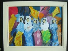 مشاركتي في معرض مصطفى علي ... زيتي