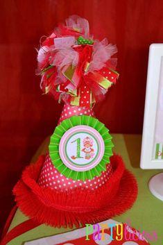 Strawberry Shortcake Birthday Party Ideas | Photo 4 of 24 | Catch My Party