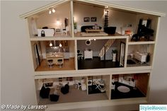 Wow, I want this, far cry from the old fashioned doll houses from way back when...