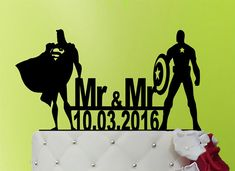 Gay Wedding Cake Topper Wedding Cake Topper mr by weddingdecor555