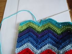 chevron crochet very good tutorial! ✭Teresa Restegui http://www.pinterest.com/teretegui/ ✭