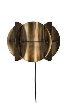 Brass Metal, Antique Brass, Innovation Living, Luminaire Mural, Interior Design Advice, Living Styles, Nordic Design, Corridor, Led