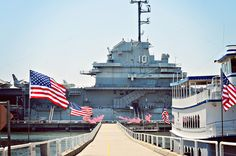 USS Yorktown, Patriot's Point, Charleston, SC..really enjoyed touring this ship.Had a meal in the mess hall.