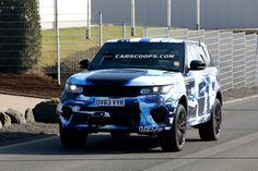 Scoop: Hotter New Range Rover Sport RS Flaunts its New Outfit - Carscoops