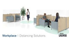 Our workplace distancing solutions provide environments that keep people healthy, safe and productive.  Create healthier workspaces with our soft seating, panel system, acrylic privacy screens, freestanding acrylic screens, fixed acrylic screens, surface lateral acrylic screens, end surface acrylic screens, laminate lateral gallery panels with acrylic screens and more!   #groupelacasse #workplacedistancing #physicaldistancing #staysafe #smartspaces #privacy Panel Systems, Privacy Screens, Soft Seating, Workspaces, Office Furniture, Environment, Surface, Create, Gallery