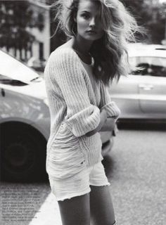 Magdalena Frackowiak shot by Claudia Knoepfel and Stefan Indlekofer for Vogue Paris November 2011