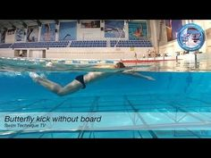 Butterfly Swimming - Dolphin Kick no board - YouTube