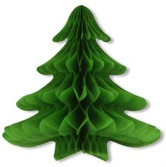 Tissue Hanging Christmas Tree - 23 x 25 inch Case Pack 6