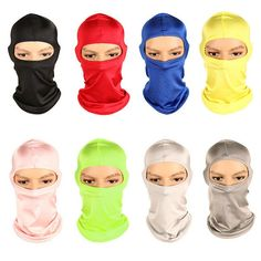 CAClifestyle Time Flies and Old Wall Unisex Windproof Balaclavas Full Face Mask Hood