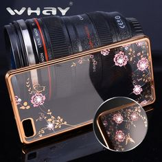 Butterfly Luxury Bling Diamond Clear Back Case For Huawei P8 Lite Plating Gilded Soft TPU Silicone Case Cover For Huawei P8 Lite #clothing,#shoes,#jewelry,#women,#men,#hats,#watches,#belts,#fashion,#style