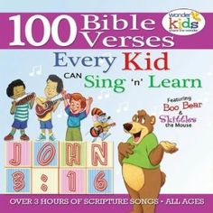 100 Bible Verses Every Kid Can Sing and Know - cd's to consider
