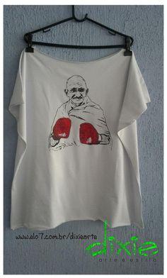 Camisetão Gandhi 100% algodão TAmanho Único R$70,00