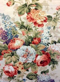 """Funny how many different """"manufacturers"""" actually have the same prints. Lismore Garden 63 Taupe"""