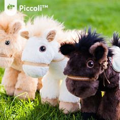Piccoli Horses are plush toys loved by kids of all ages. It serves as a tangible learning facilitator for your child when paired with our Piccoli apps!  #toy #children #kids #cuddly #cute #plushtoy #horse #piccoli #piccolihorses #usa #kentucky #tech #education
