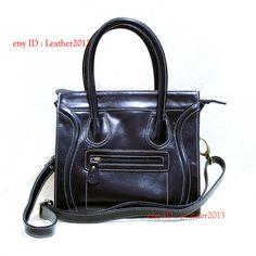 Genuine leather shoulder bag, leather handbag, weman leather bag, leather purse bag, leather tote bag, leather evening bag DP001A