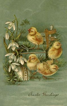 Old Easter Postcards