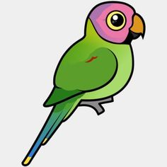 Cute Birdorable Blossom-headed Parakeet in Parrots & Parakeets. The Blossom-headed Parakeet is a beautiful species of parrot found in parts of India and