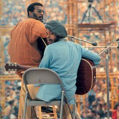 Richie Havens opens Woodstock