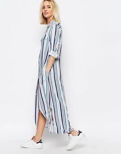Image 1 ofADPT Maxi Shirt Dress