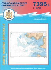 Carte Marine SHOM N°7395 - Du Croisic à Noirmoutier - Estuaire de la Loire