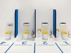 Divertido diseño de #baños infantiles Wckids de #Sanindusa Puedes conseguir los…