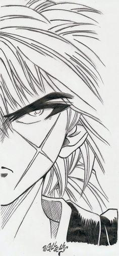 Rurouni Kenshin by wallabby