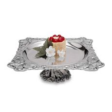 Arthur Court Designs Butterfly Footed Server - Bed Bath & Beyond