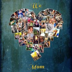 LOVE for MOM ❤️ 11 x 14 with 39 photos ❤️ heart collage by #yourlifemydesign #etsy #mom #bestmom #bestmomever #bestgift #giftidea #bestgiftever #collage #collageart #birthdaygift #instagood #instagramprints #love #lovelife #lovehersomuch #mommy #lovemymom #mothersday #bestfriends #family #baby #etsyfinds #etsyhunter #etsysellers #etsyweddingteam #yourmum #etsyshop #mami #mama sent via @latergramme