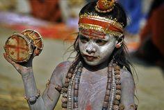 Kumbha Mela child sadhu