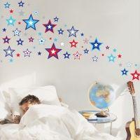 Forwalls muursticker sterren super stars
