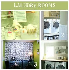 12 ways to beautify your laundry rm /tipjunkie.com