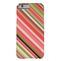 Watermelon-Inspired Stripes