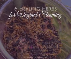 Not only is steaming helpful for overall preventative healing, but traditionally it was used to help the body heal. There are some amazing herbs for overall health and healing with vaginal steaming, so we're sharing our top 6 herbs for vaginal steaming . Steam Recipes, Herb Recipes, Healing Herbs, Medicinal Herbs, Herbal Remedies, Natural Remedies, Natural Fertility, Natural Healing, Holistic Healing