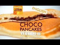 Choco pancakes (English) | Healthy&Tasty by Weider - YouTube