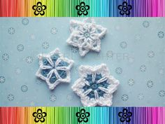 #Crochet Snowflakes (3 styles) pattern $3.95
