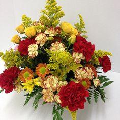#fall #carnations #roses