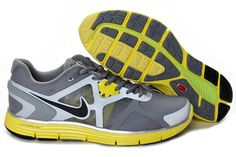 online retailer 30562 a25ec More and More Cheap Shoes Sale Online,Welcome To Buy New Shoes 2013 Womens  Nike Lunarglide 3 Cool Grey Black-Sonic Yellow-Reflective Silver Shoes  New  Shoes ...