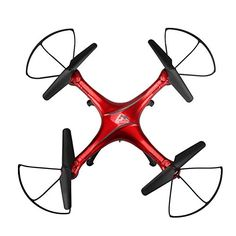 Bigban RC Quadcopter Aircraft 2.4GHz 4CH 6-axis Gyro RC One Key Return Drone   Remote (Red) * Read more reviews of the product by visiting the link on the image.