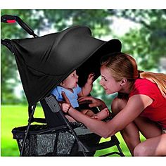 @Overstock - Keep your baby out of harmful sunrays with this stroller sun shade. This shade shields baby from 99 percent of the suns UV rays and is also water repellent boasting rain protection. The shade attaches quickly and easily to any canopy stroller.http://www.overstock.com/Baby/Summer-Infant-RayShade-UV-Protective-Stroller-Sun-Shade/5798132/product.html?CID=214117 $18.99