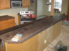 Concrete countertops | STEP 4: Acid Staining Concrete Countertops