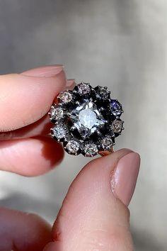 14K Or Plaqué Artificiel Gem considérable Solitaire Ring